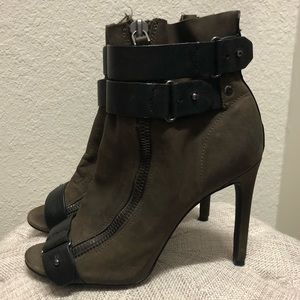Dolce Vita Leather Wrap Heels